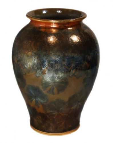 Kristálymázas váza